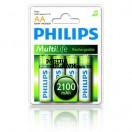 Acumulatori R6 AA Philips 2100mAh 4 buc