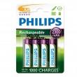 Acumulatori R6 AA Philips 2300mAh 4 buc