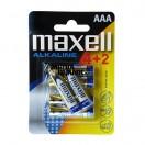 Baterii Alkaline AAA LR03 Maxell 6 buc / set MN2400