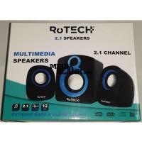 Boxe 2.1 Rotech 50773 Negre USB