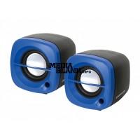 Boxe USB Omega 2.0 6W OG15BL Blue