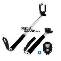 Brat telescopic pentru selfie cu telecomanda bluetooth universal