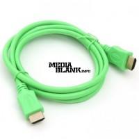 Cablu HDMI - HDMI v1.4 lungime 1.5m Verde