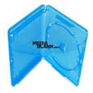 Carcasa Simpla 1 Blu Ray Disc 14mm Albastra AMARAY