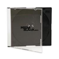 Carcasa 1 CD Slim Neagra 5,2mm Calitate Superioara