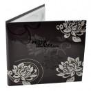 Carcasa 1 DVD Carton Neagra cu magnet