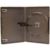 Carcasa 1 DVD Simpla Neagra 14mm