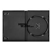 Carcasa 1 DVD Simpla Neagra 14mm Amaray Machine Packing