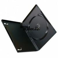 Carcasa 1 DVD Simpla Neagra 14mm Calitate Superioara
