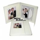 Carcasa 1 DVD Piele Ecologica Alba Lux