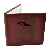 Carcasa 1 DVD Piele Ecologica Visinie Lux cu model LINE