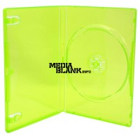 Carcasa 1 DVD Simpla Verde Lime 14mm