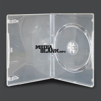 Carcasa 1 DVD Simpla Transparenta Super Clear 14mm