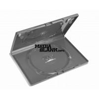 Carcasa 2 DVD Dubla Neagra 14mm Amaray Machine Packing