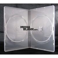 Carcasa 2 DVD Dubla Transparenta 14mm Amaray