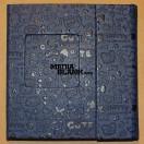 Carcasa 2 DVD Piele Ecologica Albastra Lux cu model