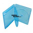 Carcasa 3 Blu Ray Disc 14mm albastra