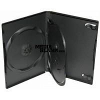Carcasa 3 DVD Neagra 14mm cu tavita