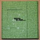Carcasa 3 DVD Piele Ecologica Verde Lux cu model