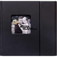 Carcasa 4 DVD Piele Ecologica Neagra Lux