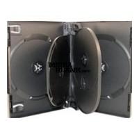 Carcasa 5 DVD Neagra 22mm cu 2 tavite