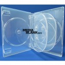 Carcasa 5 DVD Transparenta Super Clear 22mm cu 2 tavite