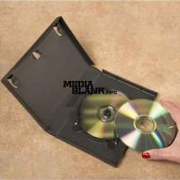Carcasa 6 DVD Neagra 14mm Amaray Machine Packing