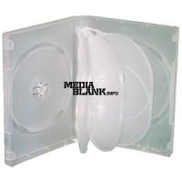 Carcasa 8 DVD Transparenta Clear 27mm cu 3 tavite