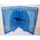 Carcasa 5 Blu Ray Disc 22mm albastra