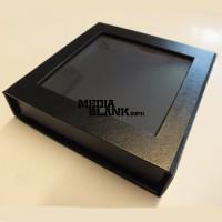 Carcasa pentru USB Flash din piele ecologica neagra