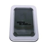 Cutie din metal cu capac si fereastra mare pentru memorie USB BOX-118lw