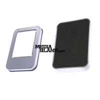 Cutie din metal cu capac si fereastra mica pentru memorie USB  PBOX14