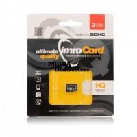 Card de memorie microSD Imro 2GB clasa 4