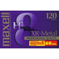 Caseta video 8mm Hi8 Digital 8 Maxell 120 minute