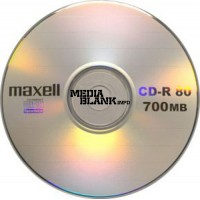 CD-R Maxell 52x 700MB Blank