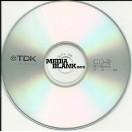 CD-R TDK 52x 700MB Blank