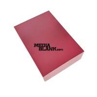 Cutie din carton cu capac pentru memorie USB rosie mare PBOX05