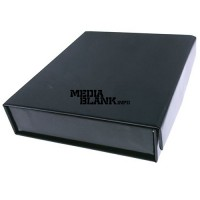 Cutie din carton cu clapeta pentru memorie USB neagra