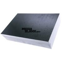 Cutie din lemn mare cu clapeta pentru memorie USB negru lucios BOX-122