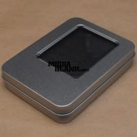 Cutie din metal cu capac pentru memorie USB PBOX17