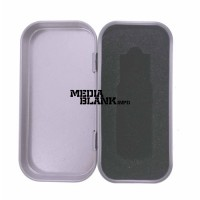 Cutie din metal cu capac pentru memorie USB mica PBOX19