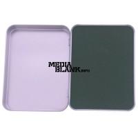 Cutie din metal cu capac pentru memorie USB mare BOX-118M
