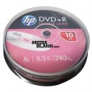 DVD+R DL Dual Layer HP 8.5GB 8x blank