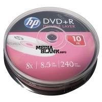 DVD+R DL Dual Layer HP 8.5GB 8x blank