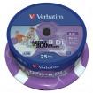 DVD+R DL Dual Layer Printabil Verbatim 8x 8.5GB printabil inkjet blank