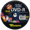 DVD-R Traxdata Magic Silver Blank 16x 4,7GB