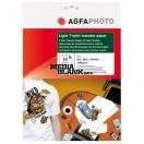 Hartie Transfer Termic Agfa A4 140gsm pentru materiale textile albe 10 coli / set