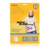 Hartie Transfer Termic Kodak A4 pentru materiale textile albe 5 coli / set