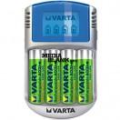 Incarcator cu LCD Varta Fast Charger cu acumulatori 4x2400mAh R06