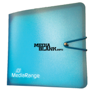 Mapa CD DVD BluRay Mediarange 12 Discuri Plastic